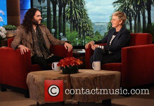 Russell Brand makes an appearance on  'The...