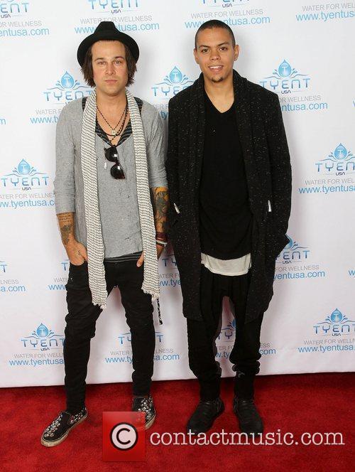 Ryan Cabrera and Evan Ross Ryan Cabrera and...