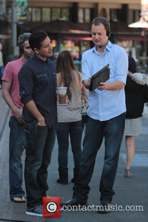 Mario Lopez at The Grove to appear on...