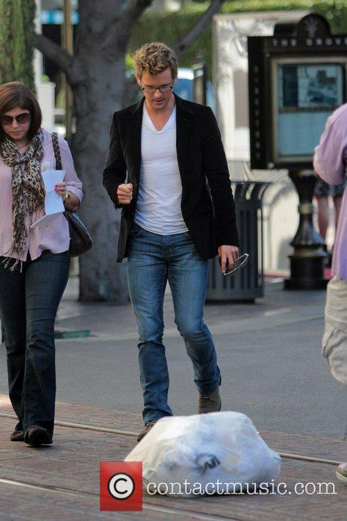 Ryan Kwanten at The Grove to appear on...