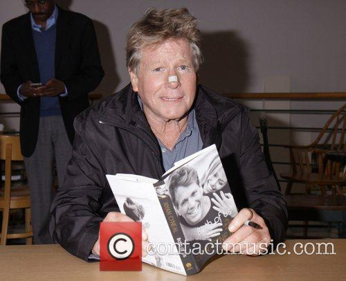 Ryan O'Neal signs copies of his book 'Both...