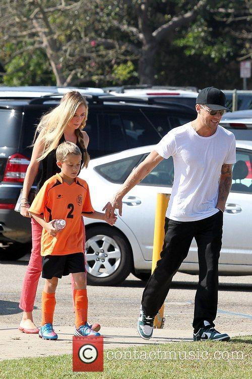 Deacon Phillippe, Paulina Slagter and Ryan Phillippe 20