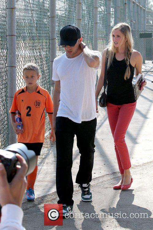 Deacon Phillippe, Paulina Slagter and Ryan Phillippe 10