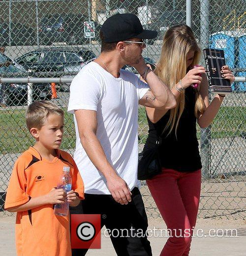 Deacon Phillippe, Paulina Slagter and Ryan Phillippe 15