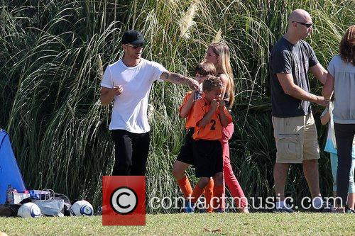 Deacon Phillippe, Paulina Slagter and Ryan Phillippe 18
