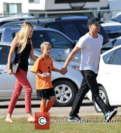 Deacon Phillippe, Paulina Slagter and Ryan Phillippe 22