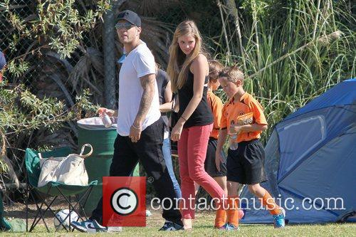 Ryan Phillippe, Deacon Phillippe and Paulina Slagter 3