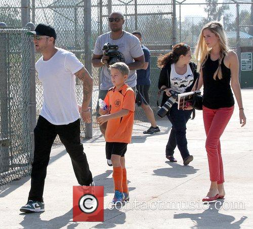 Deacon Phillippe, Paulina Slagter and Ryan Phillippe 26