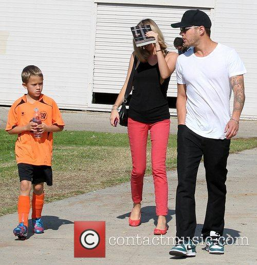 Deacon Phillippe, Paulina Slagter and Ryan Phillippe 32