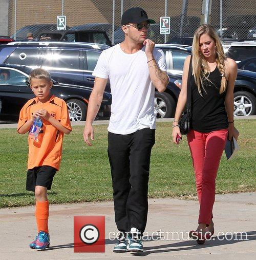 Deacon Phillippe, Paulina Slagter and Ryan Phillippe 1