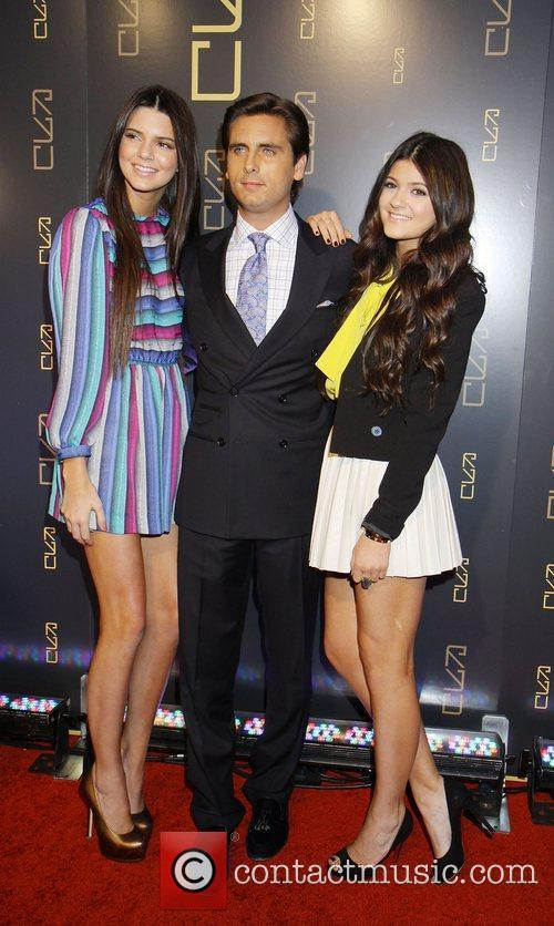 Kylie Jenner, Kendall Jenner and Scott Disick 3