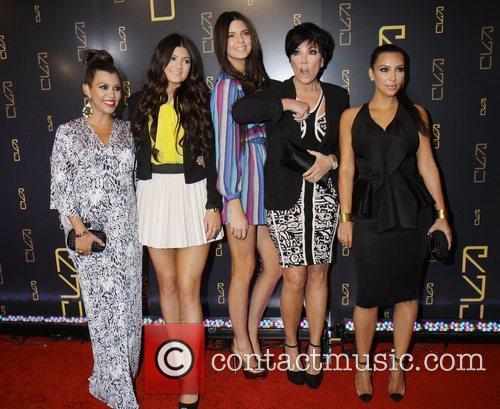 Kourtney Kardashian, Kendall Jenner, Kim Kardashian, Kris Jenner and Kylie Jenner 2