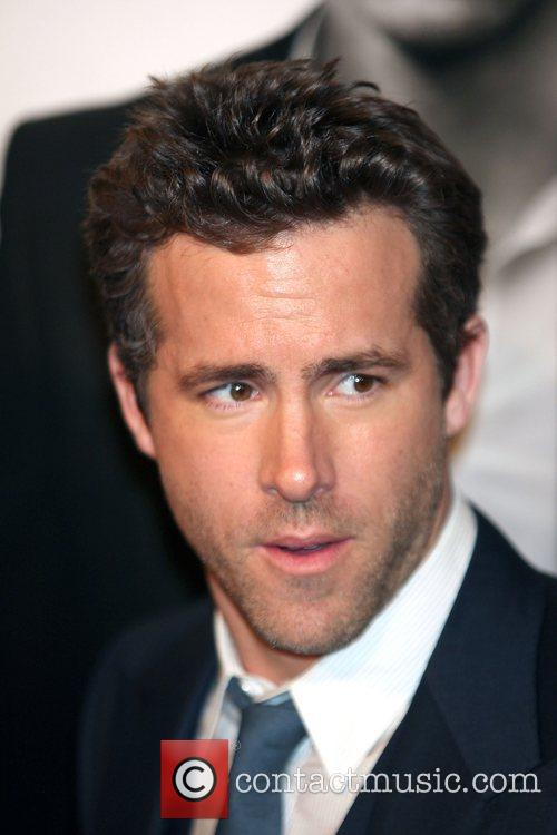 Ryan Reynolds at the 'Safe House' premiere at...
