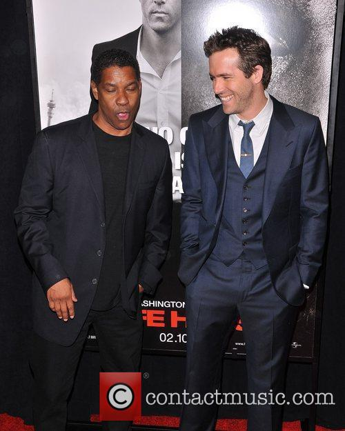 Denzel Washington and Ryan Reynolds 9