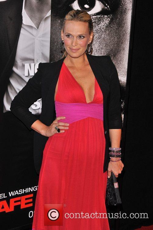 Molly Sims New York Premiere of 'Safe House'...