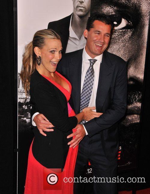 Molly Sims, Scott Stuber New York Premiere of...