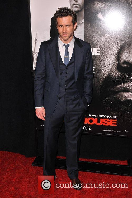 ryan Reynolds New York Premiere of 'Safe House'...