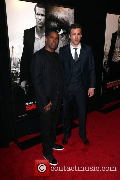 Denzel Washington and Ryan Reynolds 6