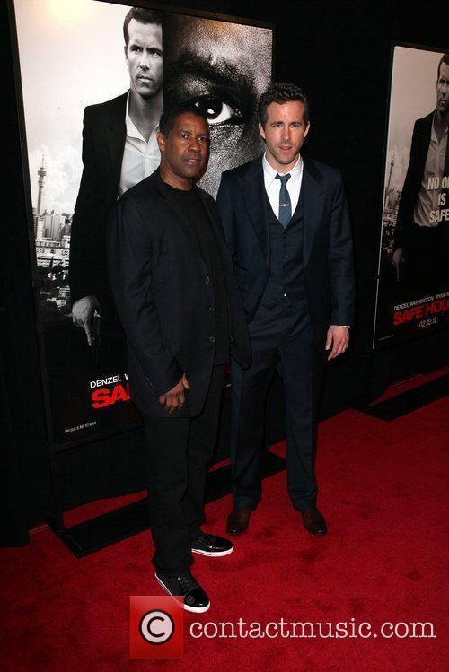 Denzel Washington and Ryan Reynolds 1