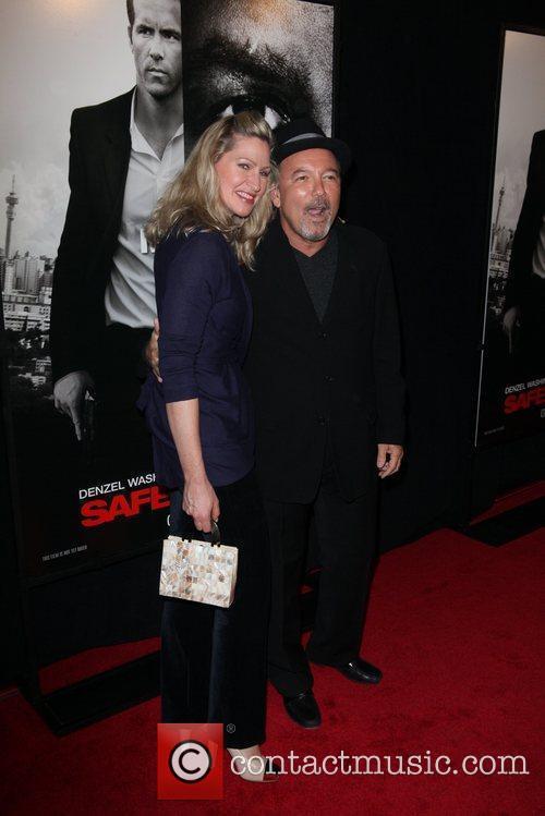Ruben Blades, and wife Luba Mason New York...