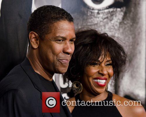 Denzel Washington and Pauletta Pearson  New York...