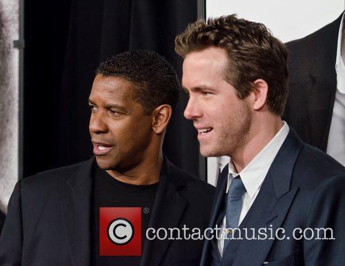 Denzel Washington and Ryan Reynolds 8