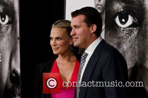 Molly Sims and Scott Stuber  New York...