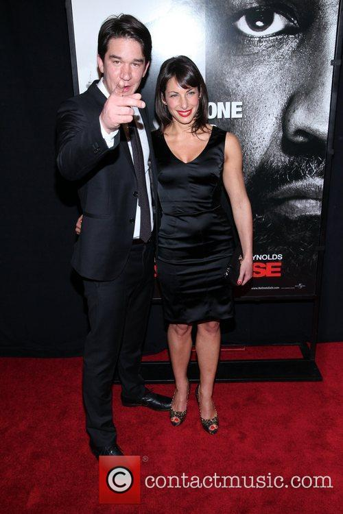 Daniel Espinosa and guest  New York Premiere...