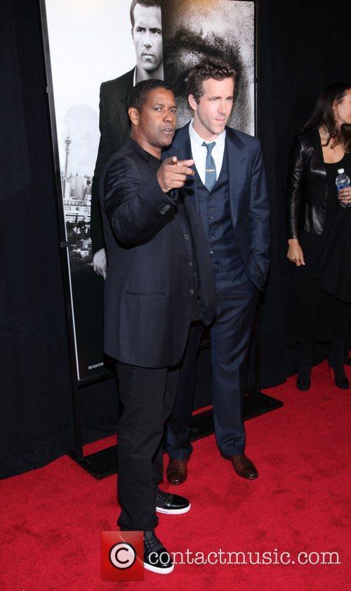 Denzel Washington and Ryan Reynolds 2