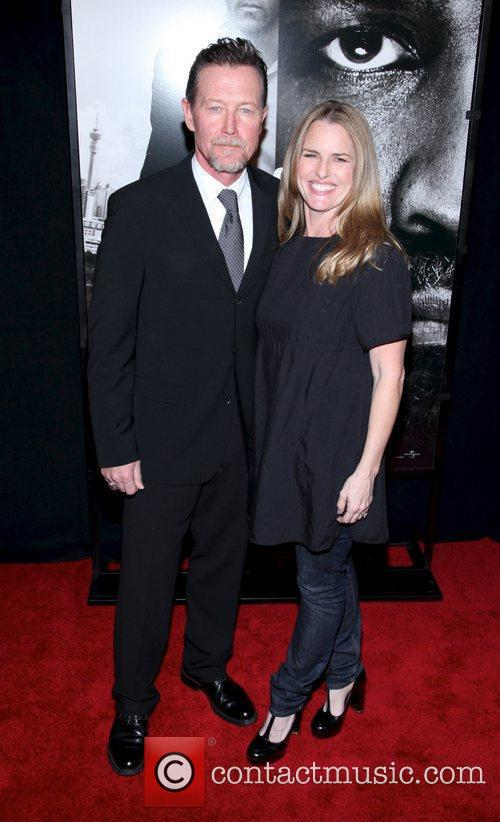 Robert Patrick and guest New York Premiere of...