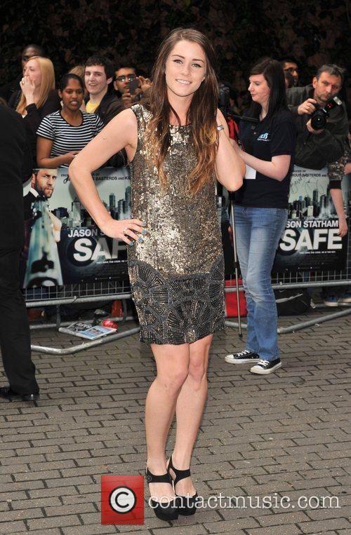 Lucie Jones The European premiere of 'Safe' held...