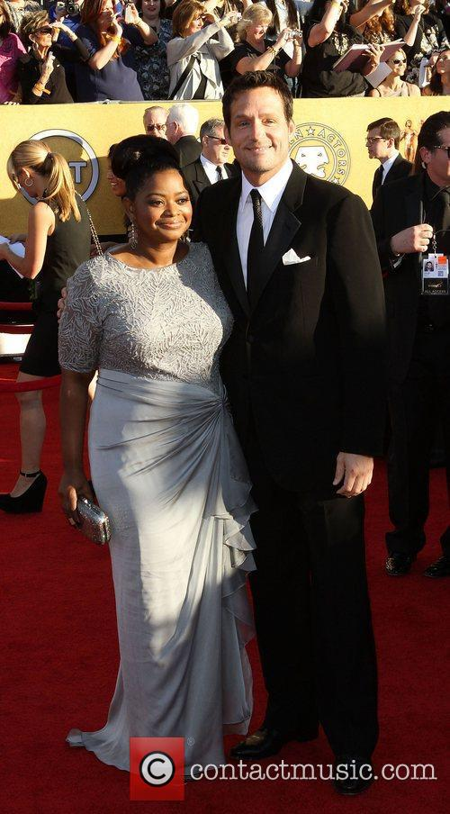 Octavia Spencer and Josh Hopkins,  at the...