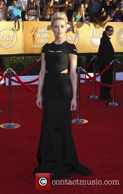 Amber Heard  18th Annual Screen Actors Guild...