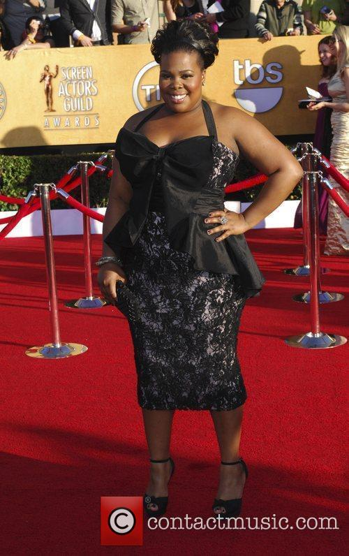 Amber Riley and Screen Actors Guild 2
