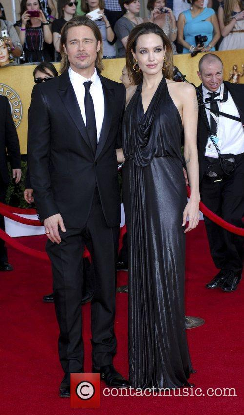 Brad Pitt, Angelina Jolie  18th Annual Screen...
