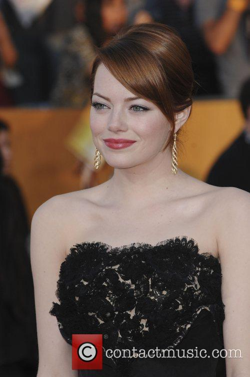 Emma Stone and Screen Actors Guild 2