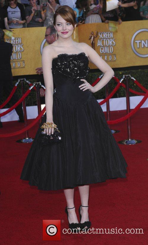 Emma Stone and Screen Actors Guild 3