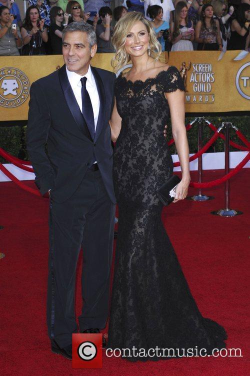 George Clooney, Stacy Keibler  18th Annual Screen...