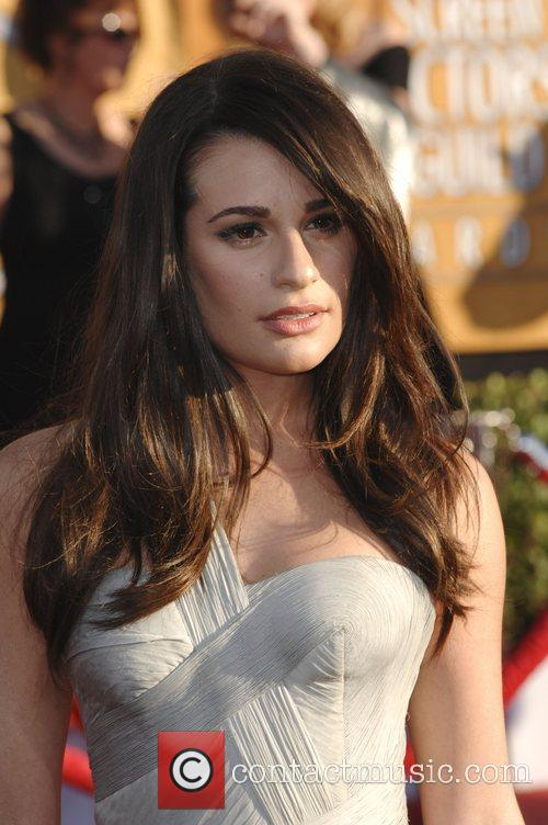 Lea Michele and Screen Actors Guild 3