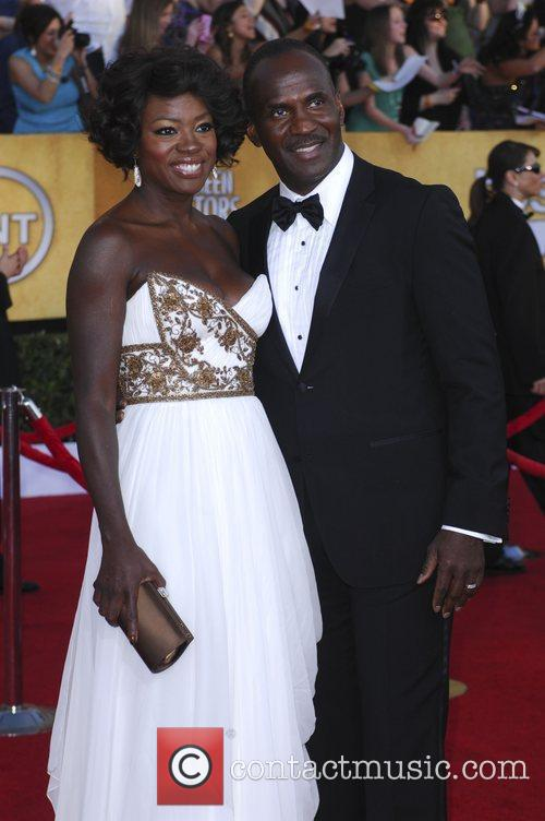 Viola Davis, Julius Tennon  18th Annual Screen...