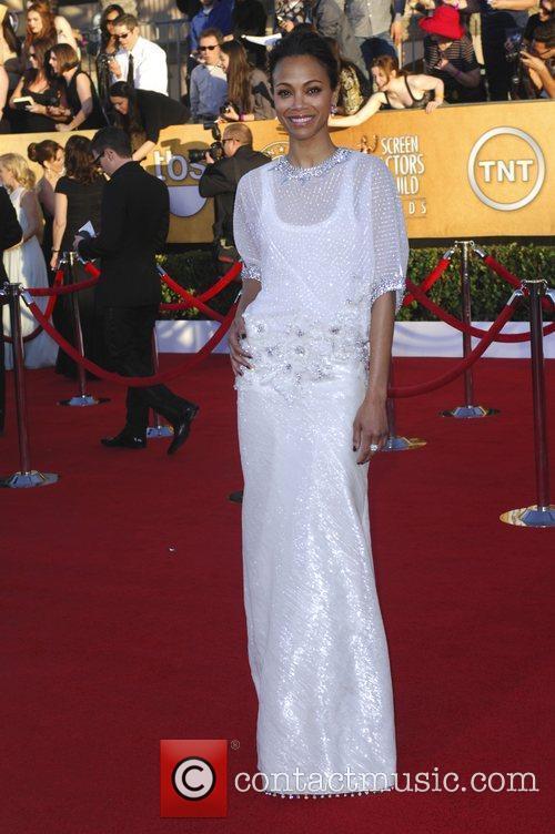 Zoe Saldana and Screen Actors Guild 3