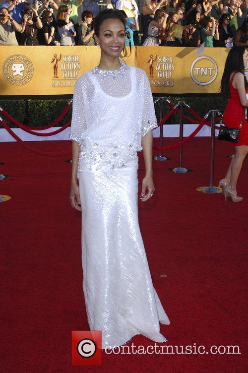 Zoe Saldana and Screen Actors Guild 1