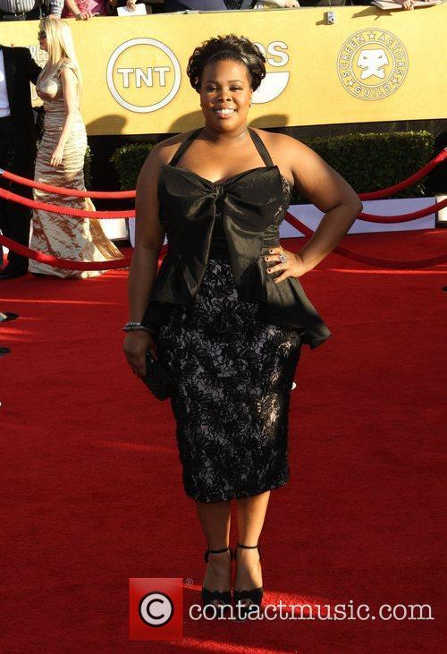 Amber Riley and Screen Actors Guild 4