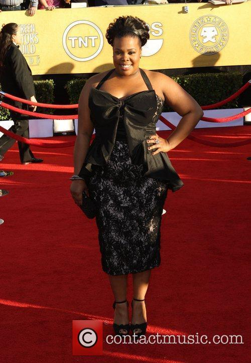 Amber Riley and Screen Actors Guild 5