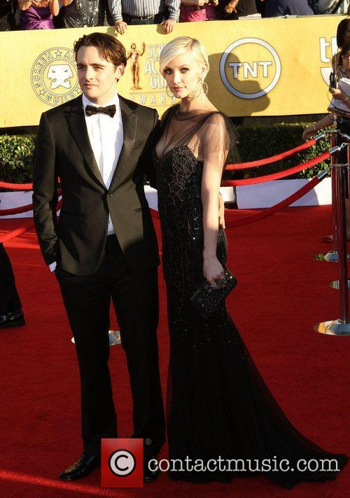 Vincent Piazza and Ashlee Simpson  The 18th...