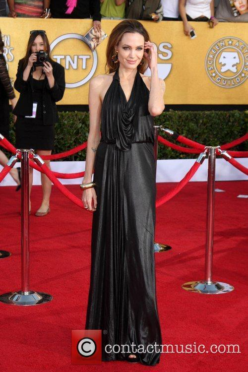 Angelina Jolie The 18th Annual Screen Actors Guild...