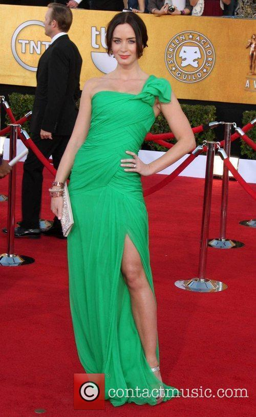 Emily Blunt The 18th Annual Screen Actors Guild...