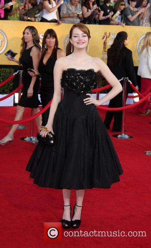 Emma Stone and Screen Actors Guild 4