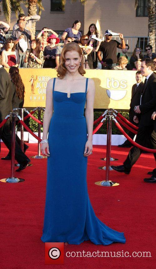 Jessica Chastain The 18th Annual Screen Actors Guild...