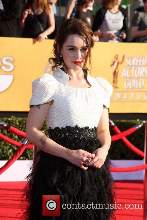 Emilia Clarke The 18th Annual Screen Actors Guild...